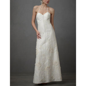 BHLDN Greenhouse Gala Floral Wedding Dress NWT 8